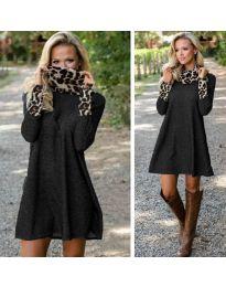 Obleka - koda 1690 - črna