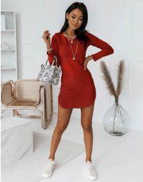 Obleka - koda 8856 - rdeča