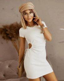 Obleka - koda 8556 - bela