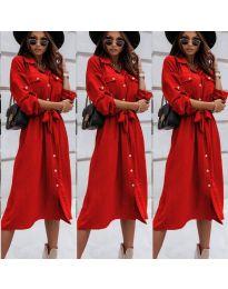 Obleka - koda 1510 - rdeča