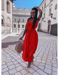 Obleka - koda 1230 - rdeča