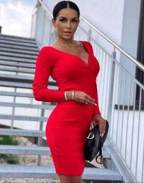Obleka - koda 12065 - rdeča