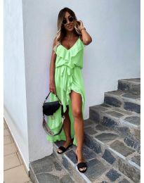 Obleka - koda 0081 - neonsko zelena
