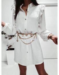 Obleka - koda 3433 - bela