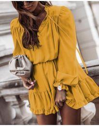 Obleka - koda 3231 - rumena