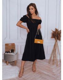 Obleka - koda 2117 - 2 - črna