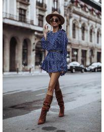 Obleka - koda 0701 - modra