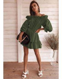 Obleka - koda 3386 - olivna