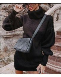 Obleka - koda 2884 - črna