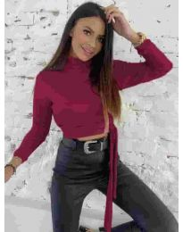 Bluza - koda 5757 - bordo
