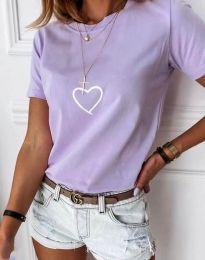 Majica - koda 3701 -  svetlo vijolična