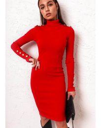 Obleka - koda 11513 - rdeča