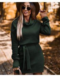 Obleka - koda 8400 - olivna