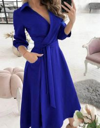Obleka - koda 2861 - modra