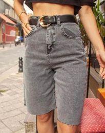 Kratke hlače - koda 2448 - 1 - siva