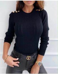 Bluza - koda 8727 - 3 - črna