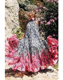 Obleka - koda 703 - večbarvna