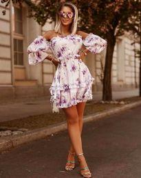 Obleka - koda 1402 - 1 - bela
