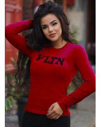 Bluza - koda 3061 - 5 - rdeča