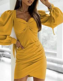 Obleka - koda 0363 - gorčica
