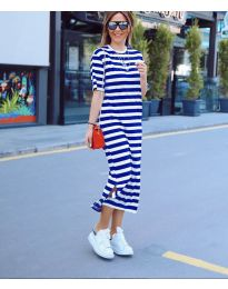 Obleka - koda 9910 - modrá