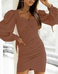 Obleka - koda 0363 - rjav