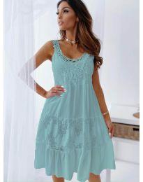 Obleka - koda 3232 - turkizna