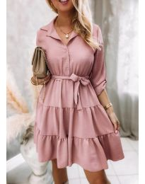 Obleka - koda 6970 - roza