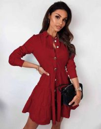 Obleka - koda 3852 - rdeča