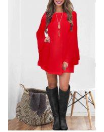 Obleka - koda 8102 - rdeča
