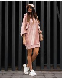 Obleka - koda 4547 - roza