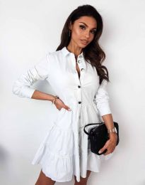 Obleka - koda 3852 - bela