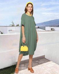 Obleka - koda 5554 - olivna