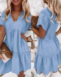 Obleka - koda 8978 - svetlo modra