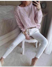 Bluza - koda 6182 - roza