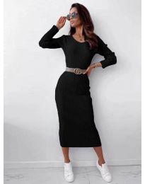 Obleka - koda 5878 - črna