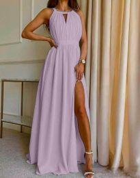 Obleka - koda 6787 - vijolična