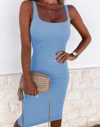 Obleka - koda 8899 - svetlo modra