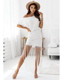 Obleka - koda 12003 - bela