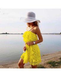 Obleka - koda 4849 - rumena