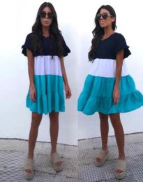 Obleka - koda 1039 - 2 - večbarvna
