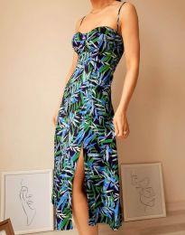 Obleka - koda 8584 - 1 - večbarvna