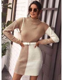 Obleka - koda 9935 - 4 - večbarvna