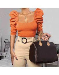 Bluza - koda 9867 - oranžna