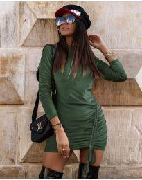 Obleka - koda 9545 - olivna