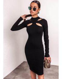 Obleka - koda 1625  - 3 - črna