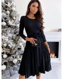 Obleka - koda 3939 - črna
