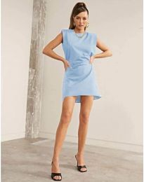 Obleka - koda 625 - svetlo modra