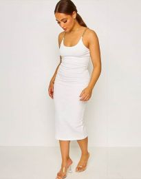 Obleka - koda 2580 - bela
