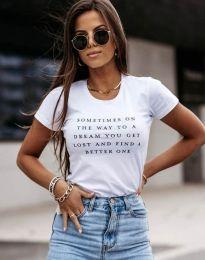 Majica - koda 4460 - bela